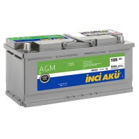 INCI AKU AGM START-STOP 6 CT-105AH-850AEN (0) R+